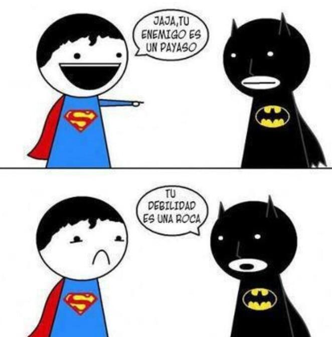 Pobre Superman - meme
