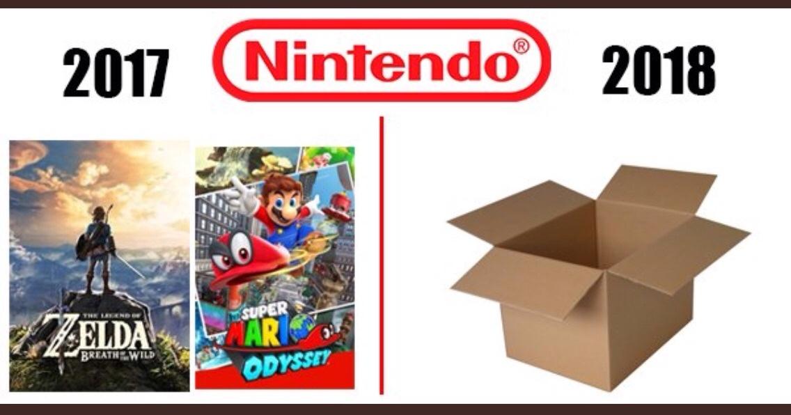 Nintendo in a nutshell - meme