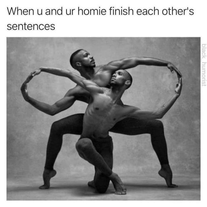 No homo tho - meme