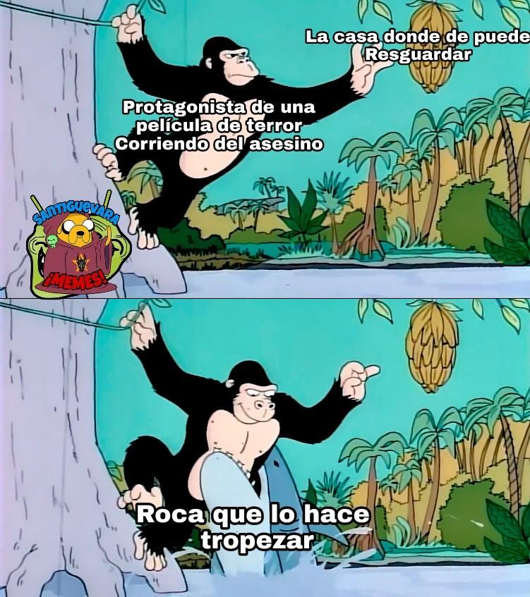 Caídas estúpidas - meme