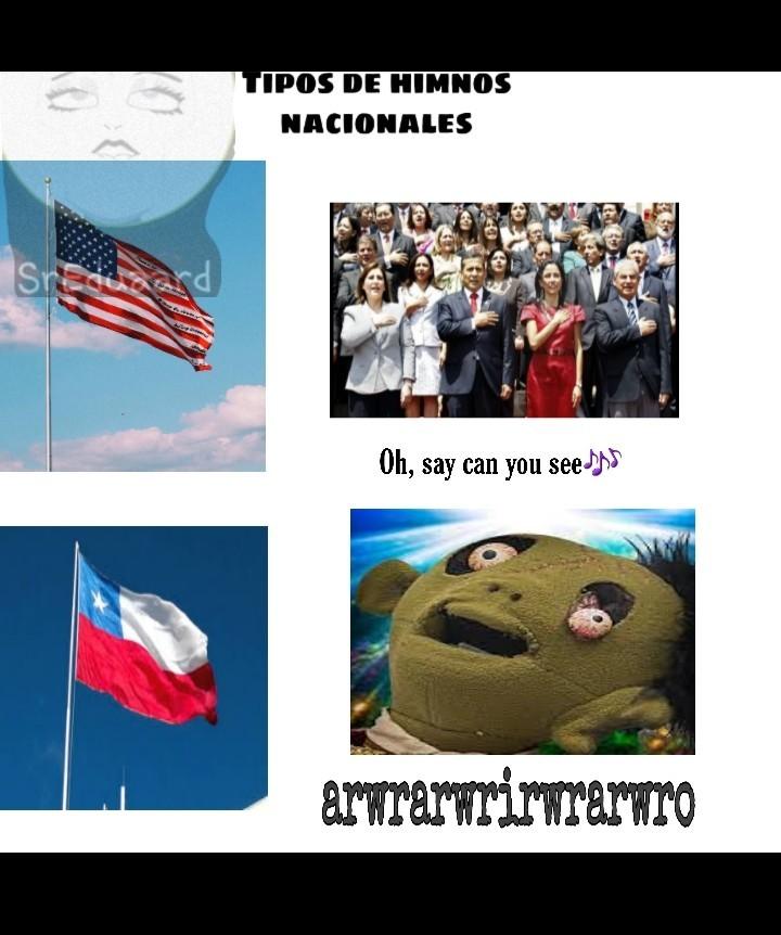Soy chileno. Pero apenas entiendo cuando cantan.... - meme