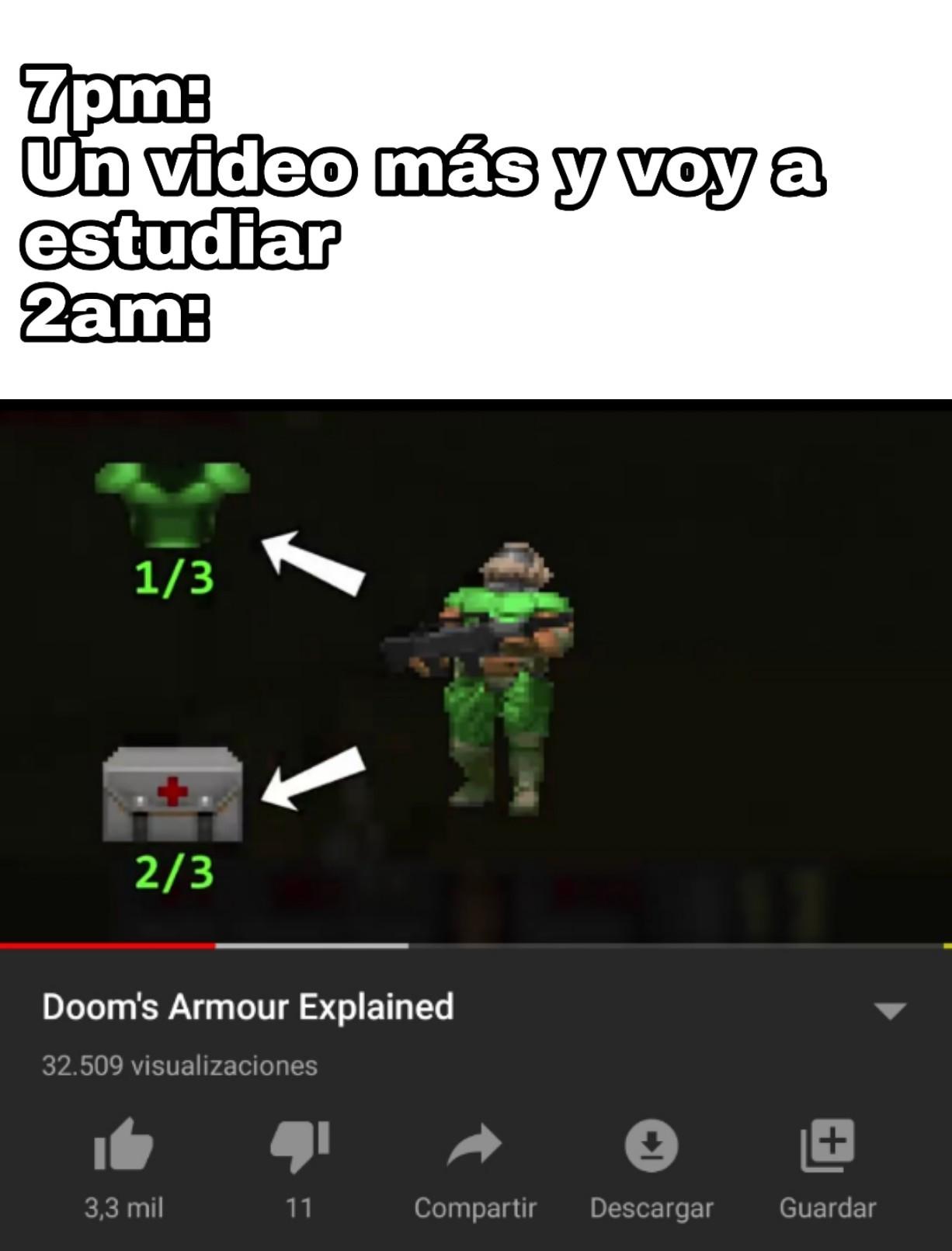 El doom es lo MAXIMO - meme