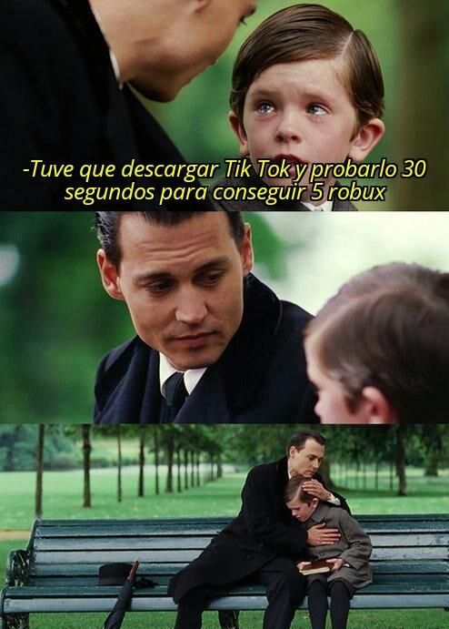 We que triste - meme