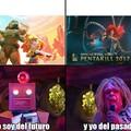 Ambas animaciones tienen un parecido Pd: Capitan Lento.