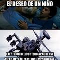 Re Fachero El Helicoptero Apache