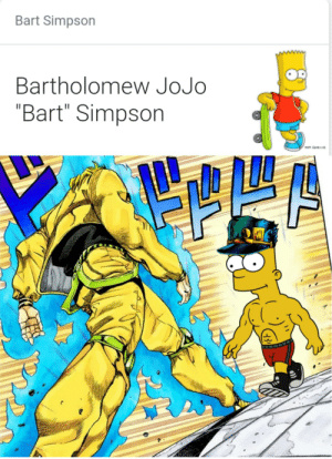 is that a jojo reference - meme