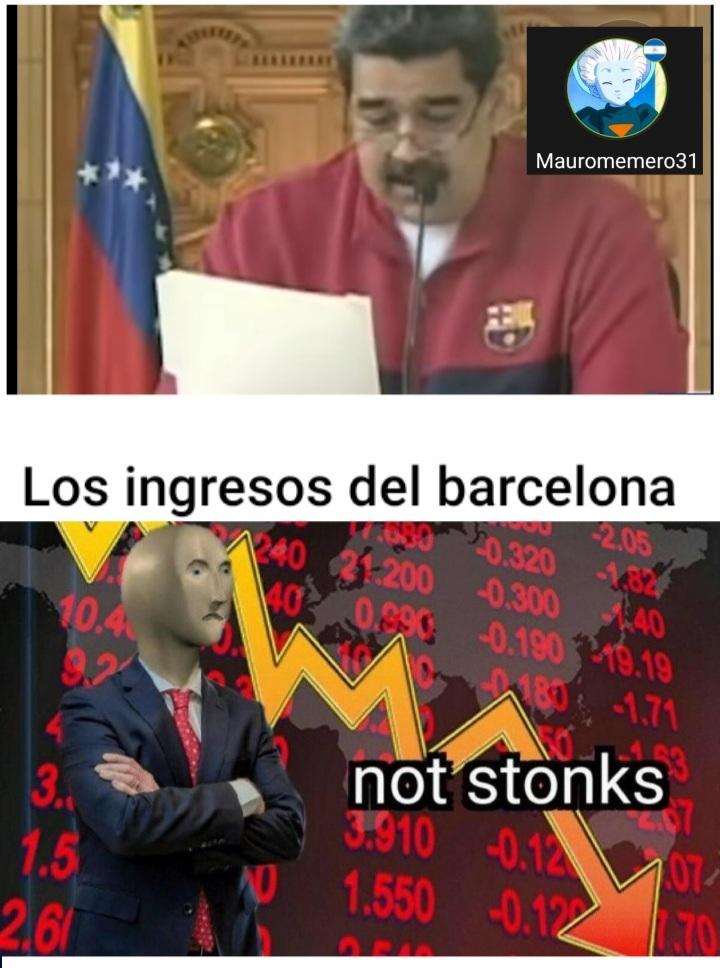 Not stonks - meme