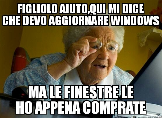 Nonna accepted - meme
