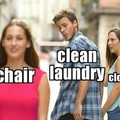 The chair is so easy though...