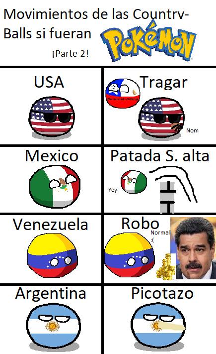 Argentina es el menos cambiado :v - meme