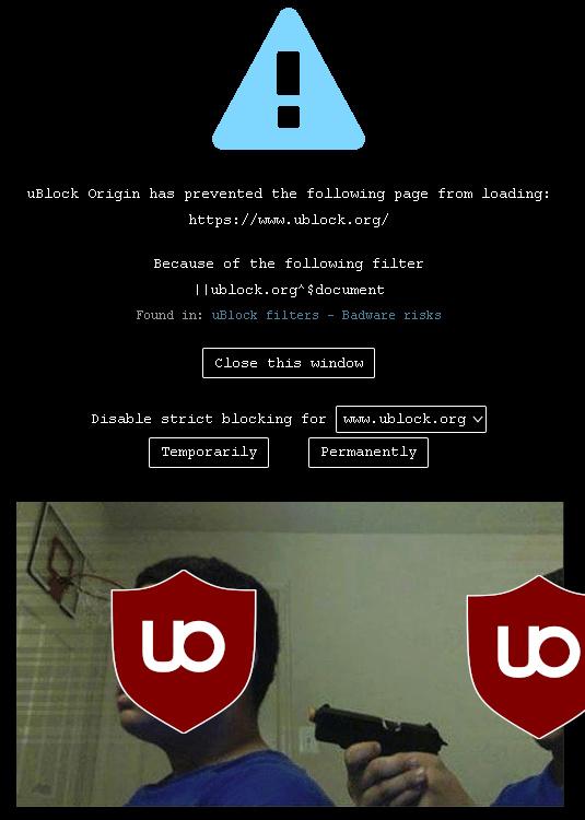 ublock origin - meme