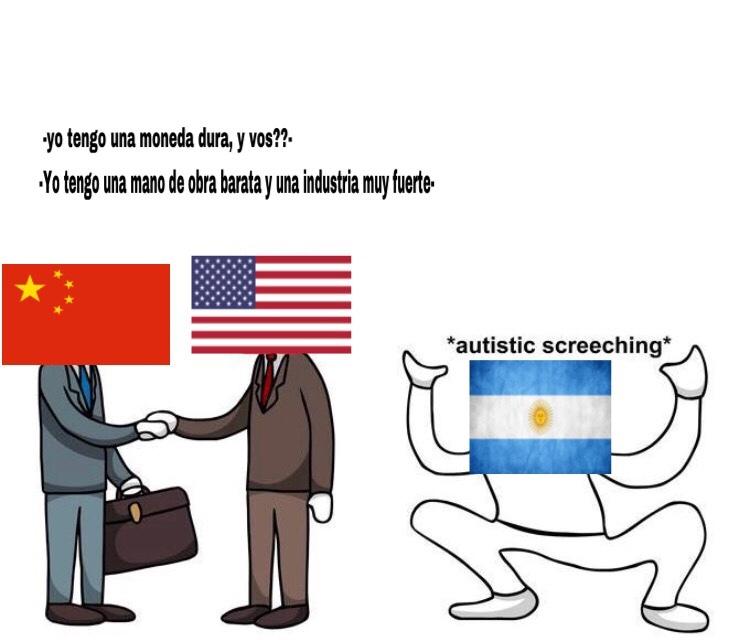el puto dólar - meme