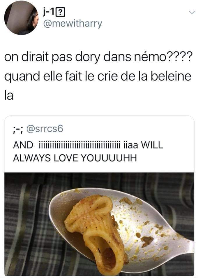 Rectifications : *cri *baleine - meme
