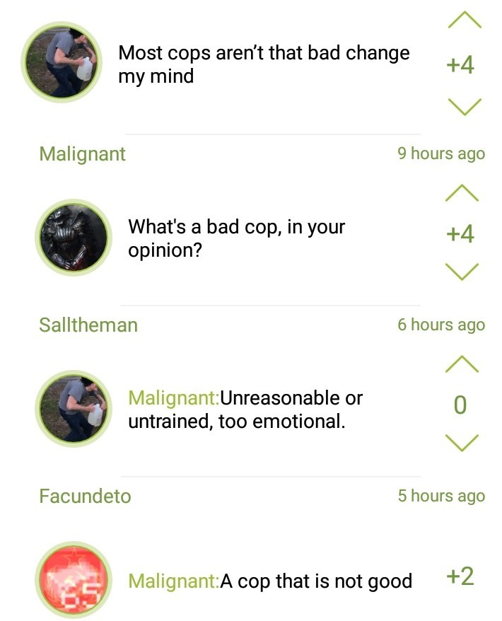 2 great responses - meme