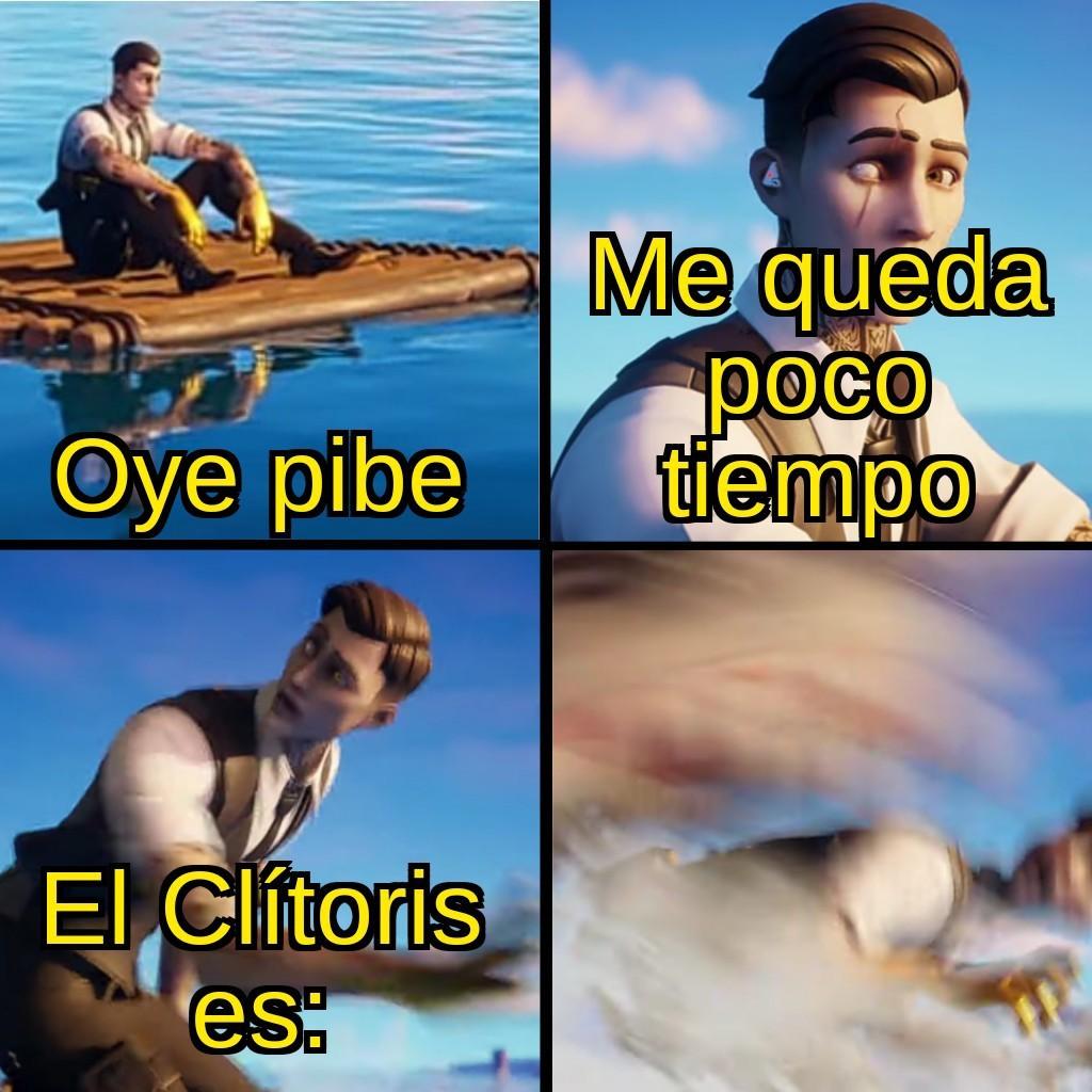 Nunca sabremos que es el Clítoris - meme