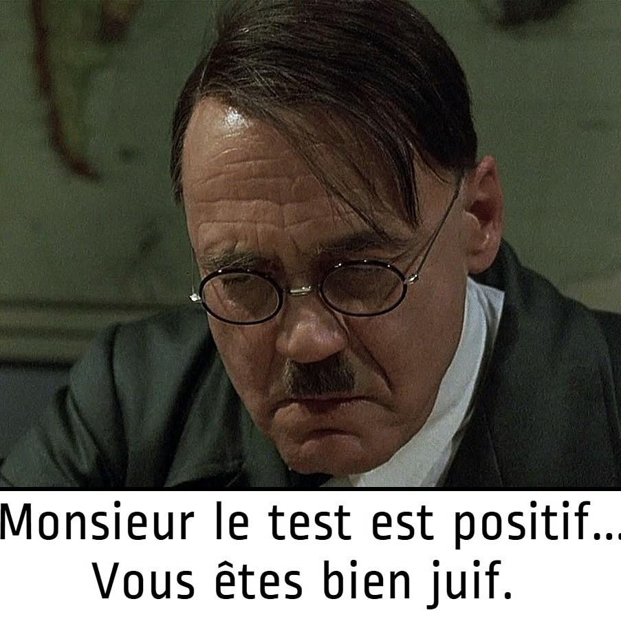 Monsieur le test est positif - meme