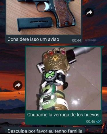 brasileiro vs Mexicano - meme