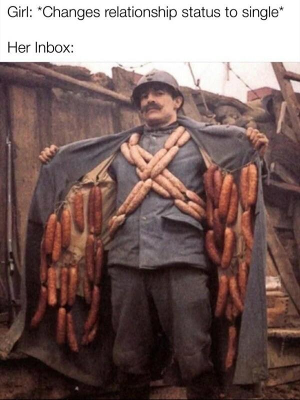 Sausage fest - meme