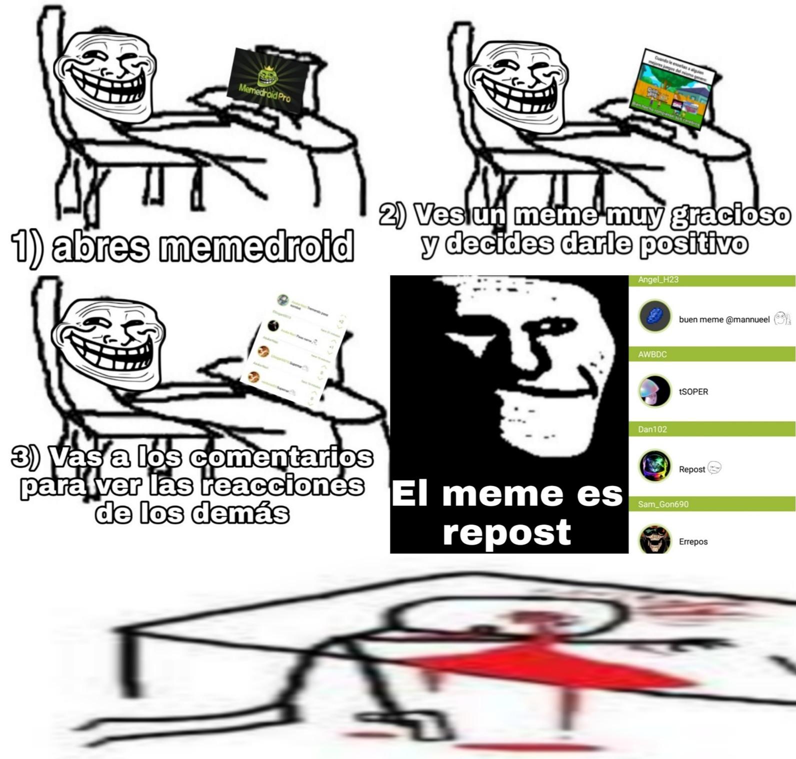 Malardisimo a niveles estratosfericos - meme