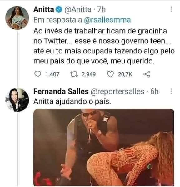 Anita bundalelê - meme