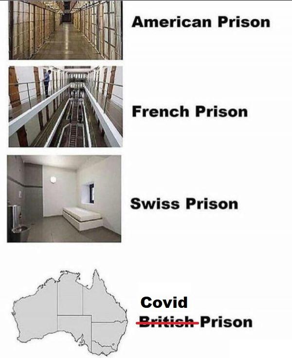 covid prison - meme