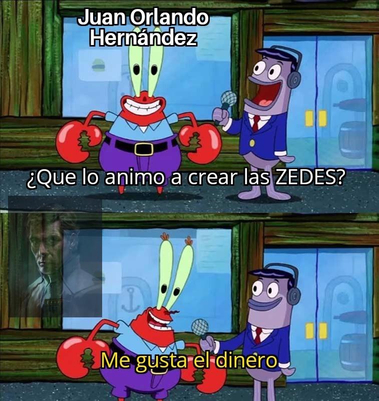 Contexto: Las ZEDES son como Hong Kong de Honduras - meme
