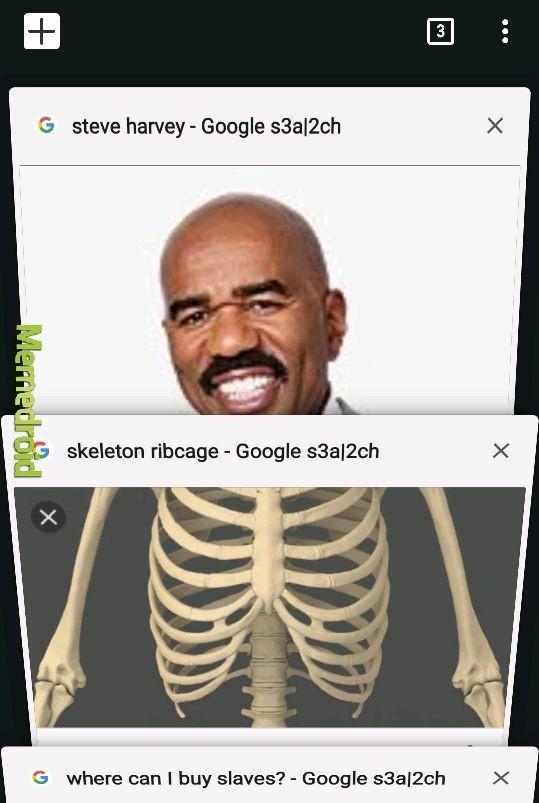 Haha, steve harvey as a skeletonk!! - meme