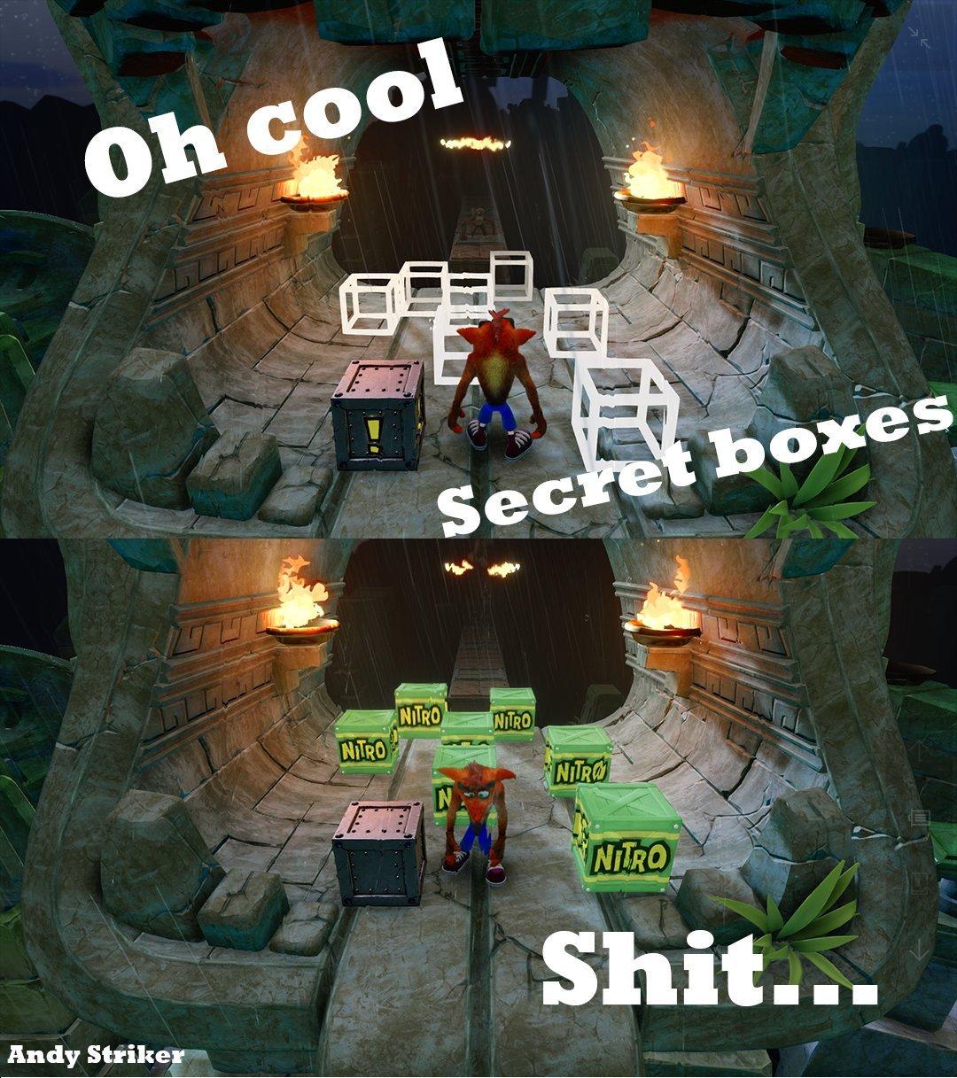 Oh crash (remastered) - meme