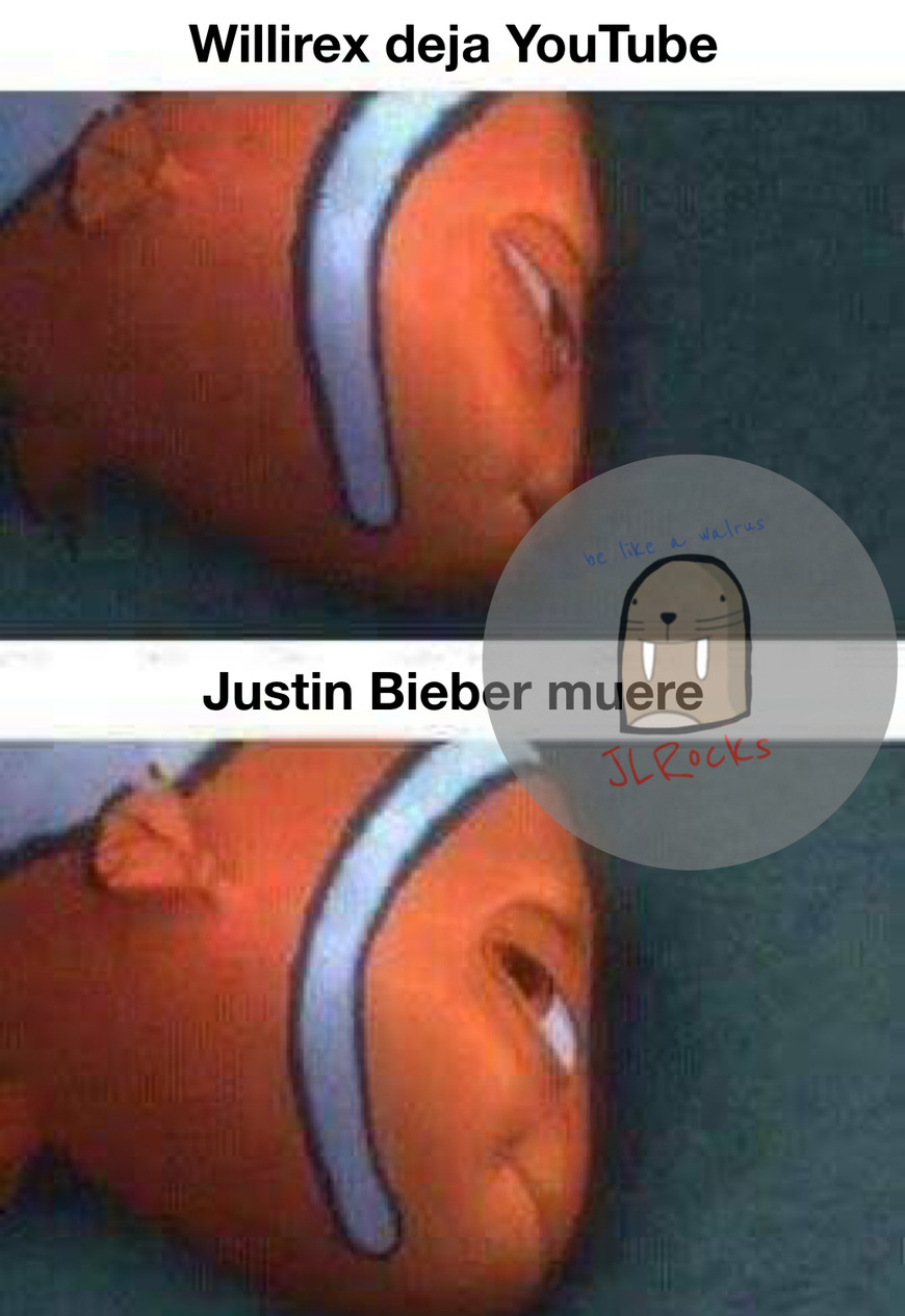 Justin Bieber muere - meme