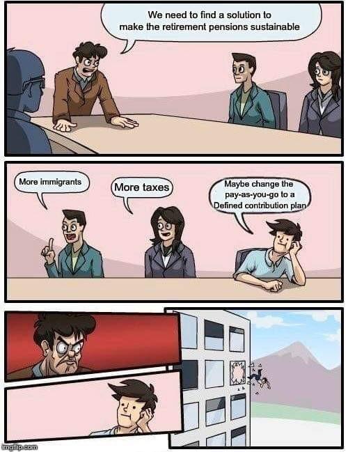 Pensions - meme