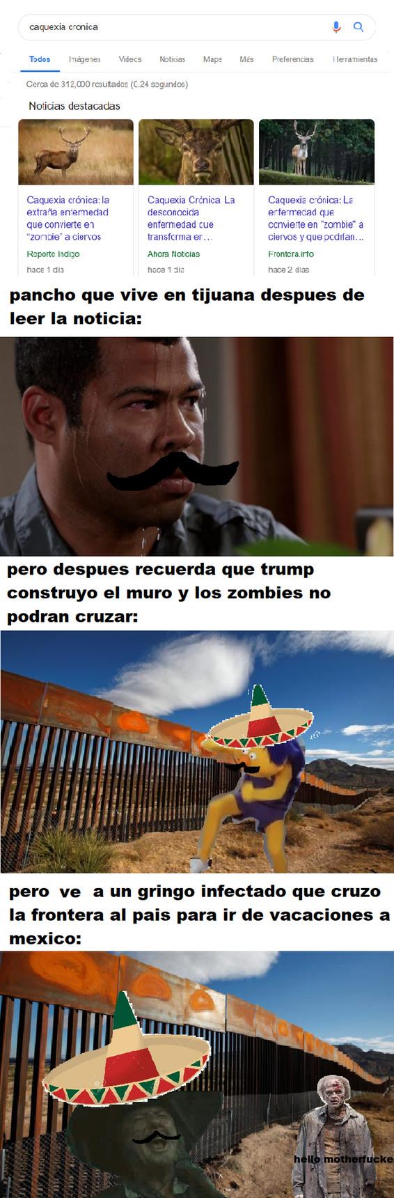 como mexicano estoy demasiado asustado :´v - meme