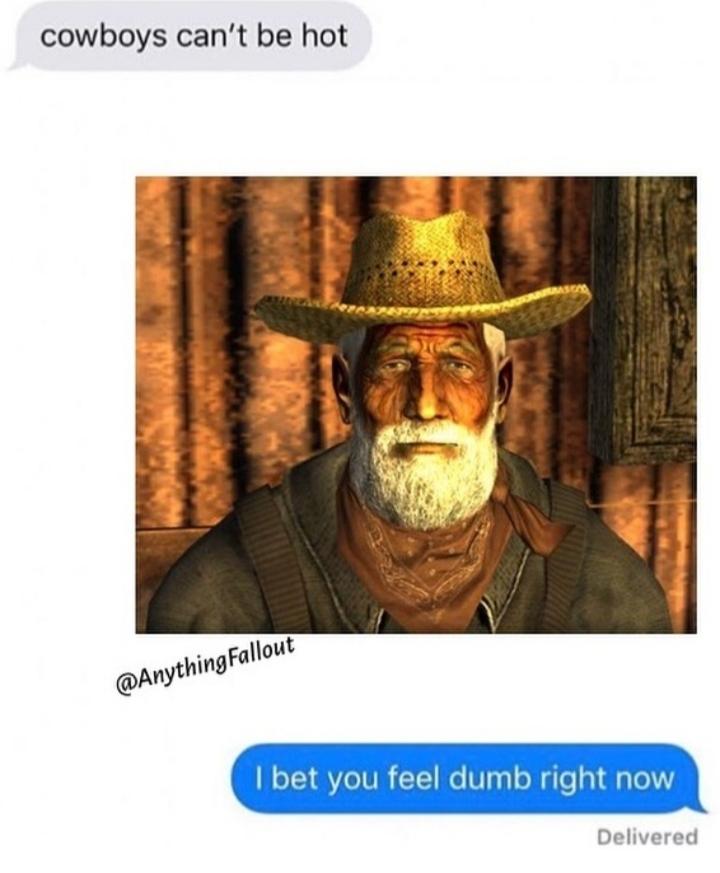 You probably feel really dumb - meme