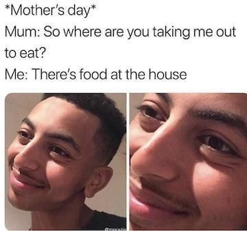 I respect all mums out there. no offence BTW - meme
