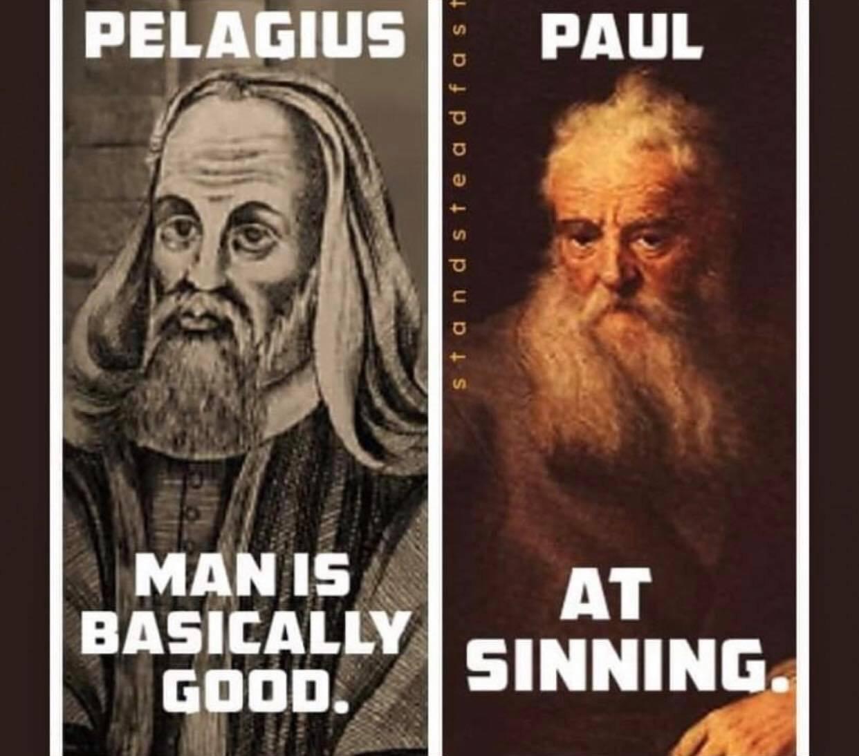 when we sin, we speak our native tongue - meme