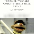 Ernie prepares to say ok boomer