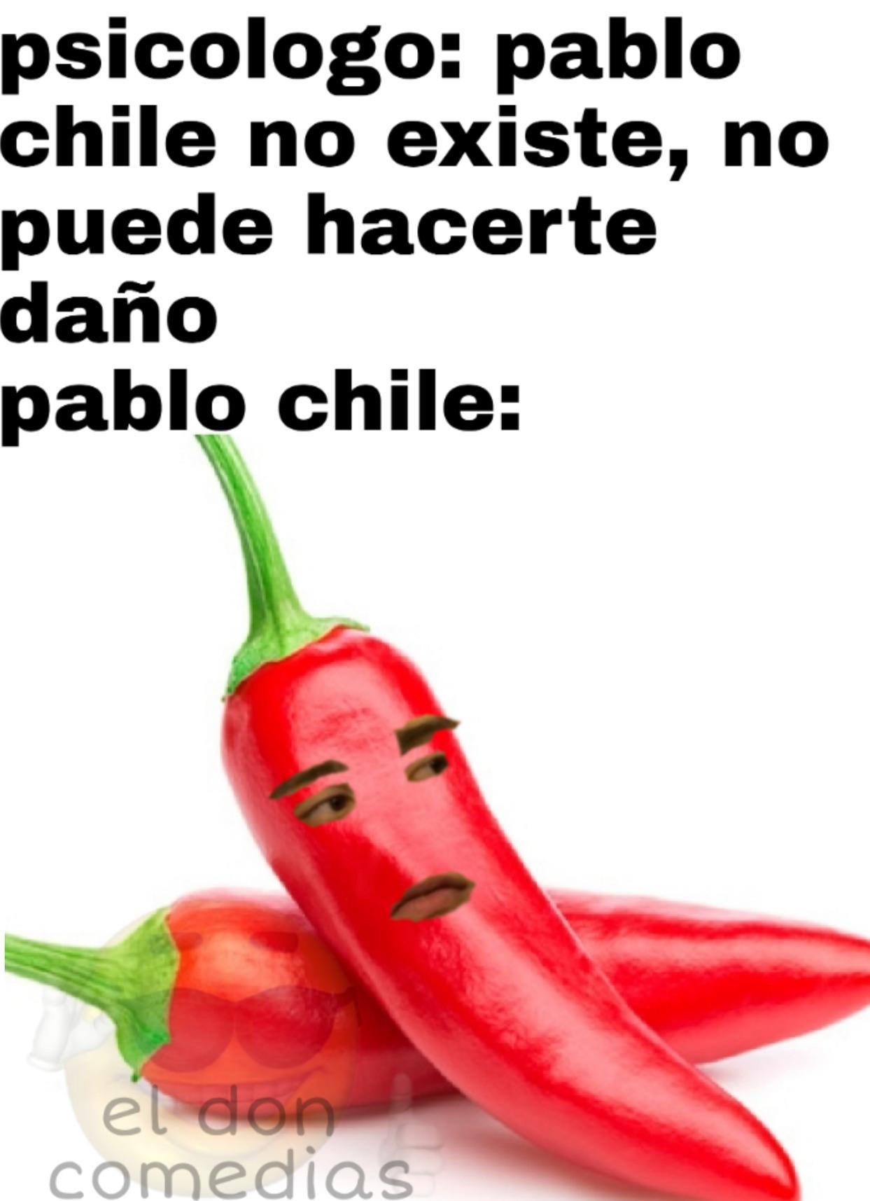 Pablo chile - meme
