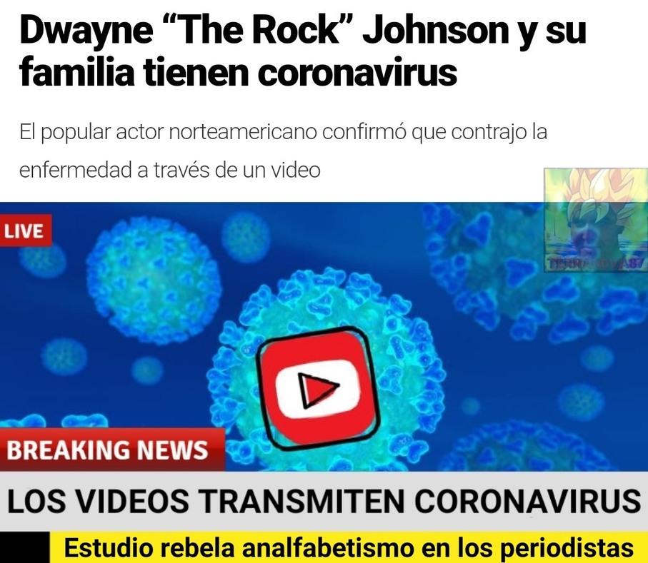 Si las rocas se contagian, que nos espera a los mortales... - meme