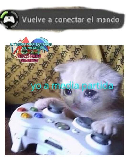 Odio esos controles - meme