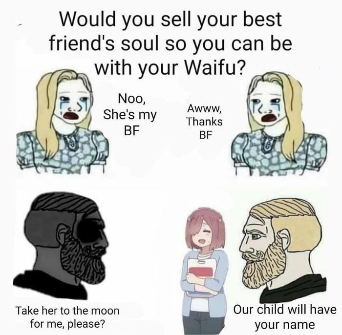 So im a weeb, sue me - meme