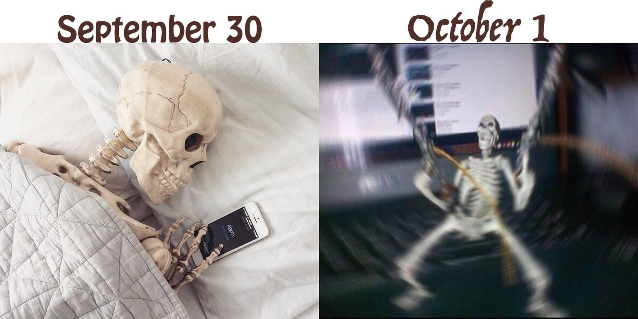 Spooky time! DOOT - meme