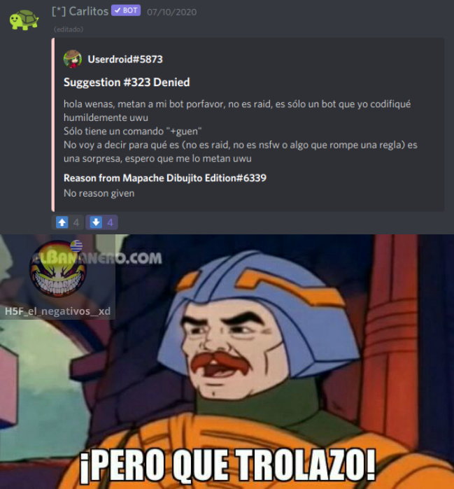 ¡¡¡PERO QUE TROLAZO!!! :pukecereal: :pukecereal: :pukecereal: - meme