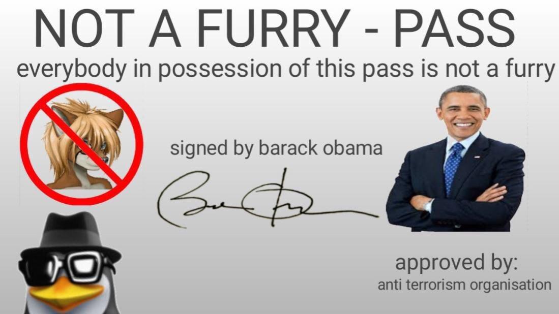 Gracias osol y Obama no seré considerado furro :fuck yeah: - meme