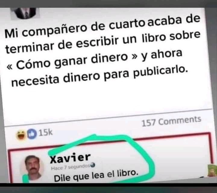 Un capo Xavier - meme