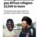 Sheeeeeiit I happy to take yo money Zionist