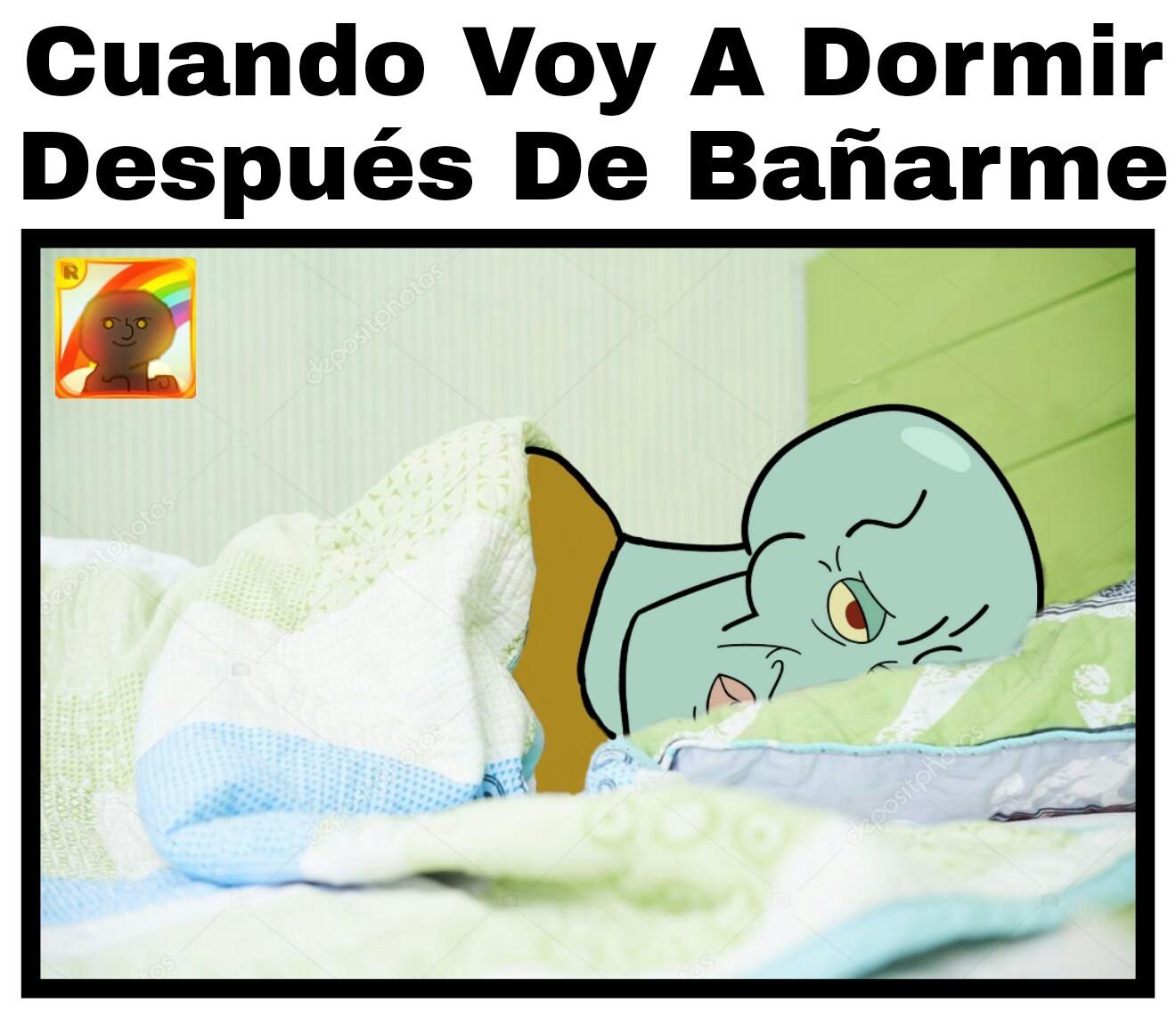 Dormir - meme