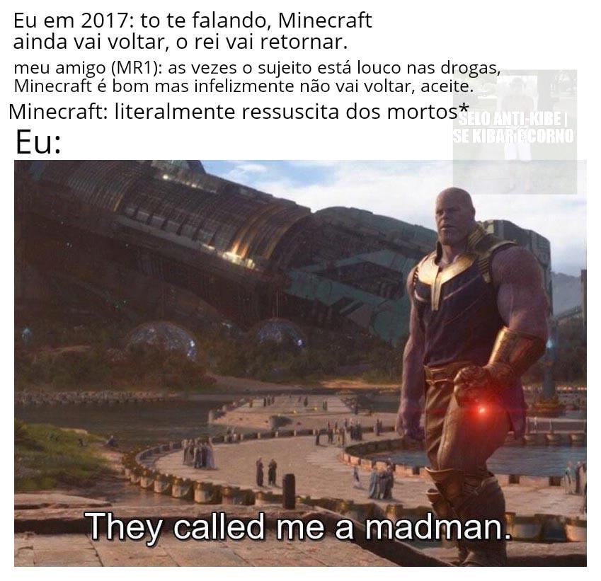 Eu realmente tive esse diálogo com Mr1 - meme