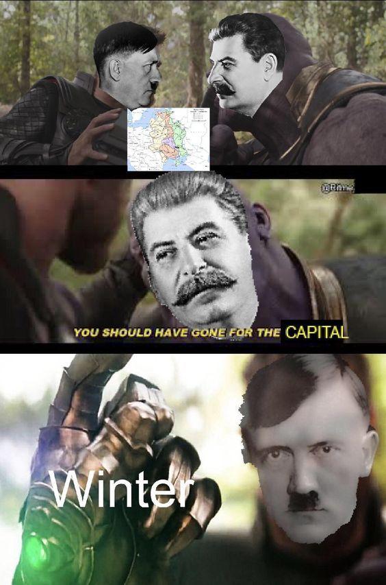 Old edited ww2 meme