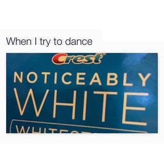 White men can't jump - meme