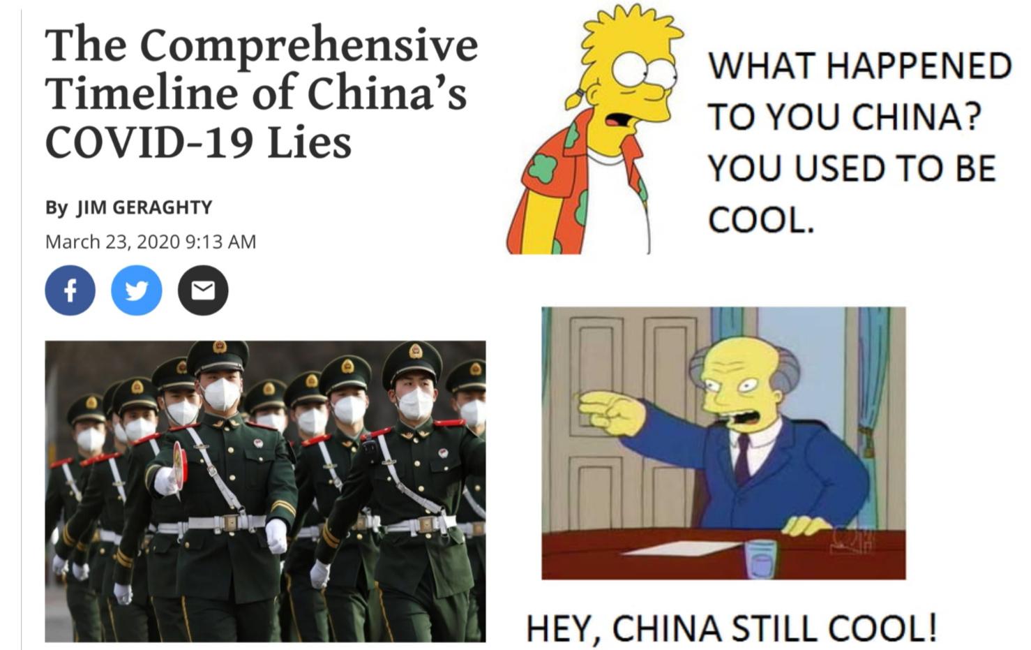 Not cool china - meme