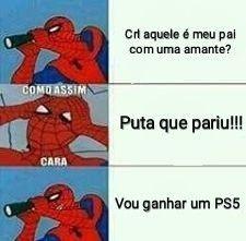 Alguém vai ganhar um PS5 de natal :) - meme